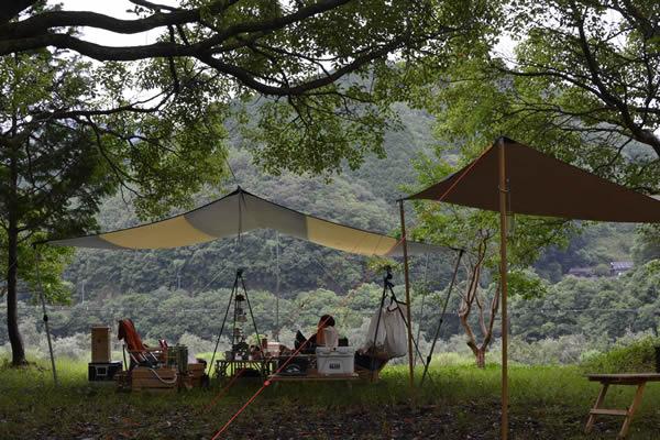 高知 キャンプ 四万十 三島キャンプ場