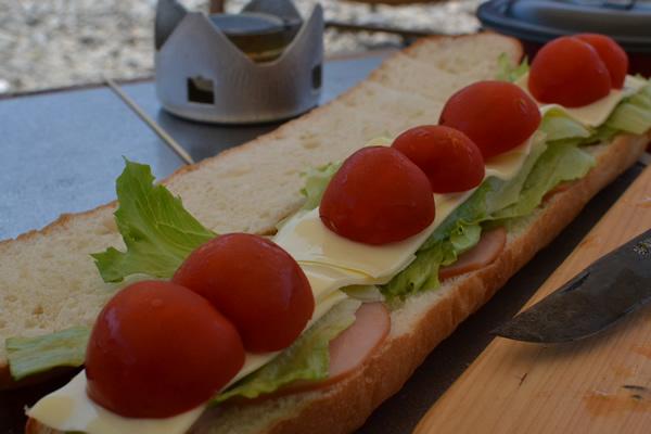 高知 キャンプ バケット サンドイッチ