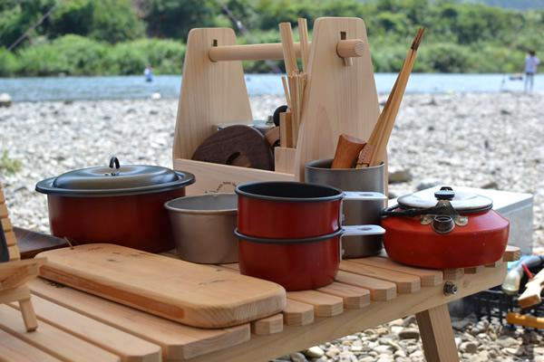 木製 スパイスボックス ケース キャンプ用品 キャンプ道具 196 ラック