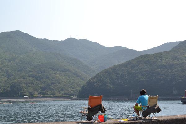高知 キャンプ 大月町 釣り 一切漁港