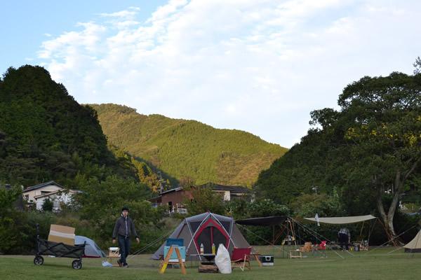 高知 キャンプ 196 四万十 ふるさと交流センター