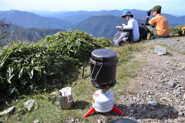 登山 コーヒー 最高 抜群 うまい 旨い 美味い