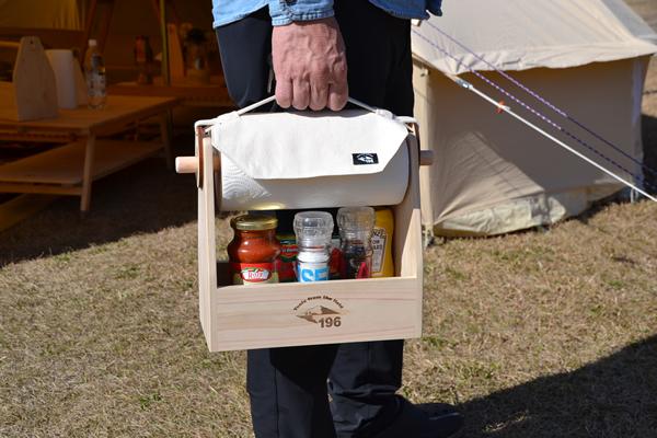キャンプ 調味料 スパイスケース スパイスボックス キッチンペーパー カバー