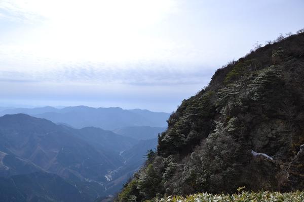 登山 四国 高知 愛媛 笹ヶ峰 寒風山 丸山荘