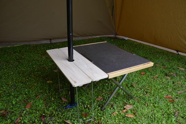 テンマク サーカス ワンポールテント テーブル
