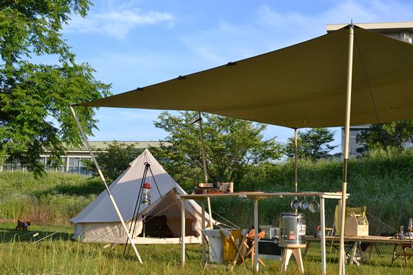 キャンプ BAR バー カウンター キッチン 木製 ウッド