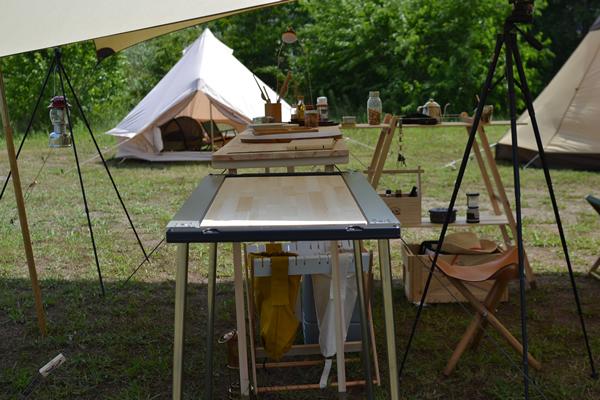 キャンプ BAR バー カウンター キッチン 木製 ウッド アイアングリルテーブル 830 スノーピーク IGT