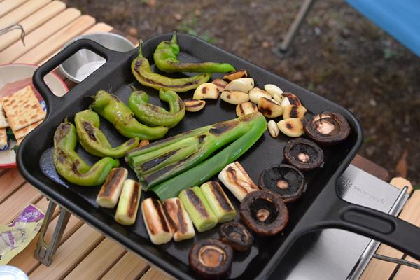キャンプ 料理 宴会 酒 BBQ 焚火