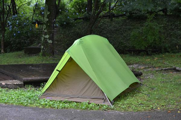 高知 キャンプ 196 甫喜ヶ峰 雨 土砂降り
