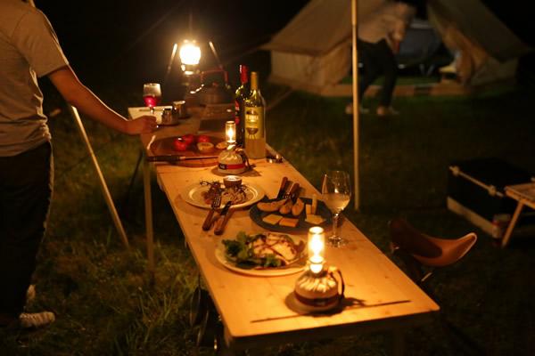 キャンプ BAR バー カウンター キッチン ハイテーブル オシャレ おしゃれ お洒落