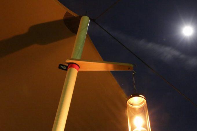 キャンプ タープ テント ウッドポール カスタム