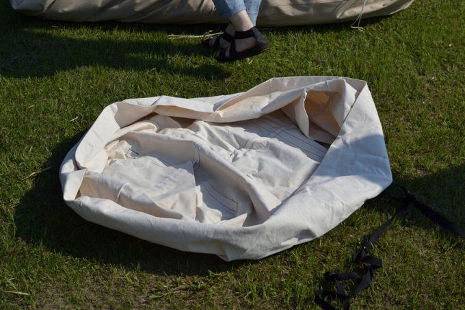 ベルテント 収納 袋 バック オリジナル カスタム コットン アスガルド