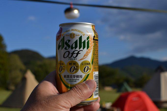 キャンプ 料理 鍋 土佐ジロー スープ 缶詰 ビール お酒