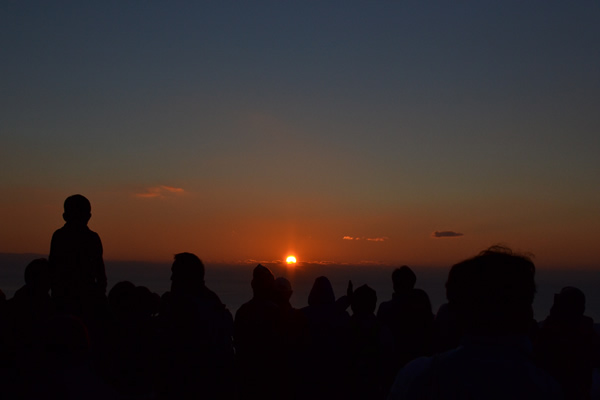 高知 キャンプ 初日の出