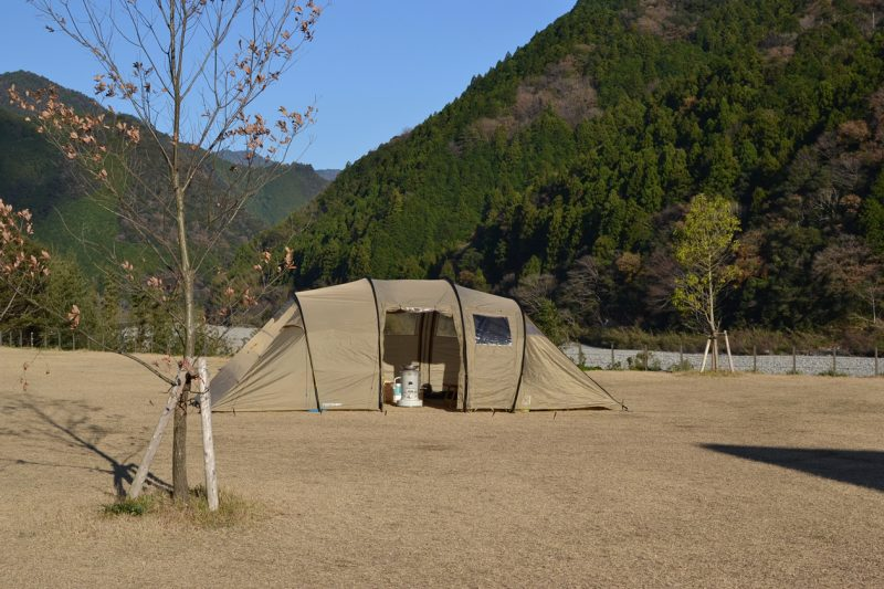 高知 キャンプ スノーピーク おち 越知 料理 冬キャンプ