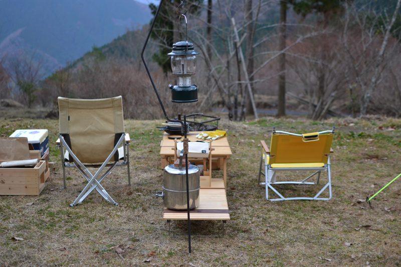 高知 キャンプ 196 焚き火 冬キャンプ 絶景