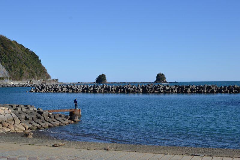 高知 キャンプ 海 中土佐 久礼 小鎌田の浜