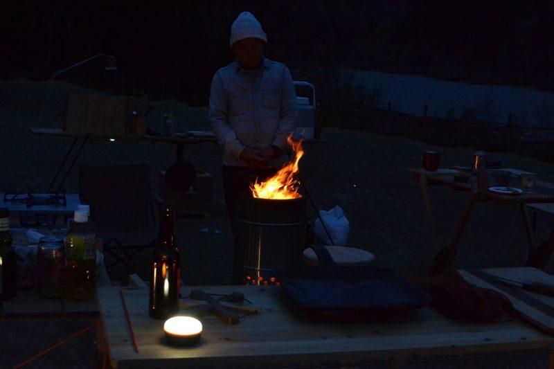 キャンプ 焚き火 焚火台 フュアハンド フュアーハンド ペトロマックス 立ち スタンド スタンディング