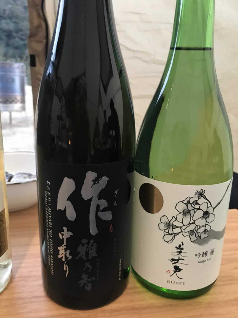 キャンプ 日本酒 作 美丈夫