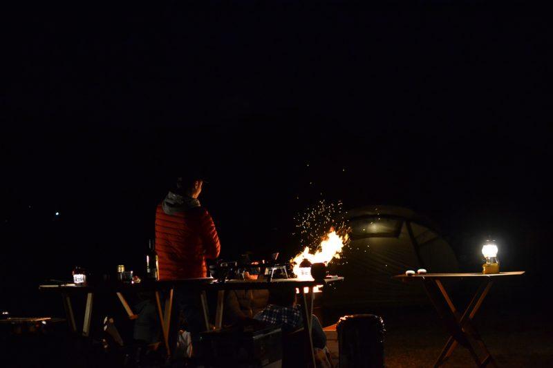 キャンプ 焚き火 フュアハンド 焚き火台 四万十